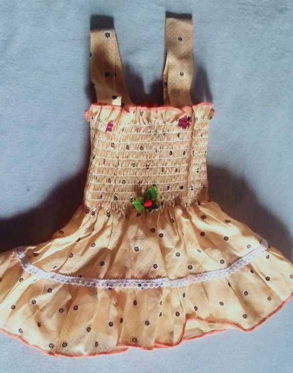 frock for baby girl.