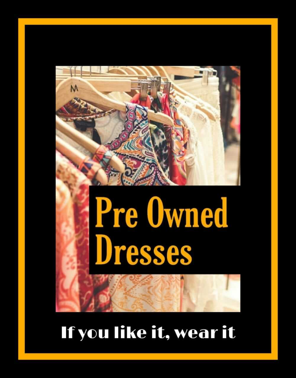 Pre Owned Dresses