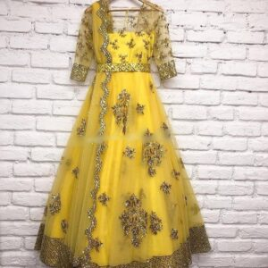 Beautiful Embroidery Gown