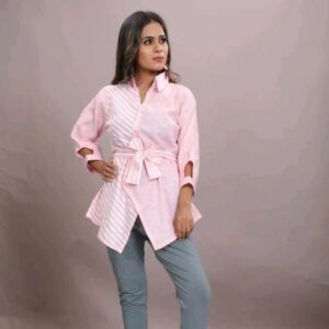 Stylish two shade shirt for women's