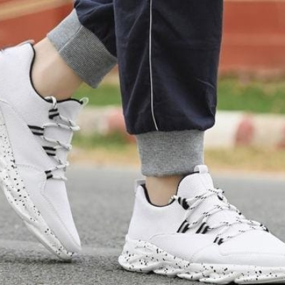 Trendy white Shoes